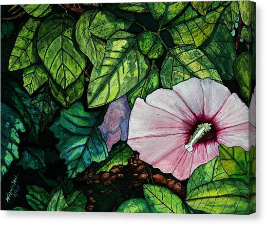 Beauty In Bloom Canvas Print by Willie McNeal