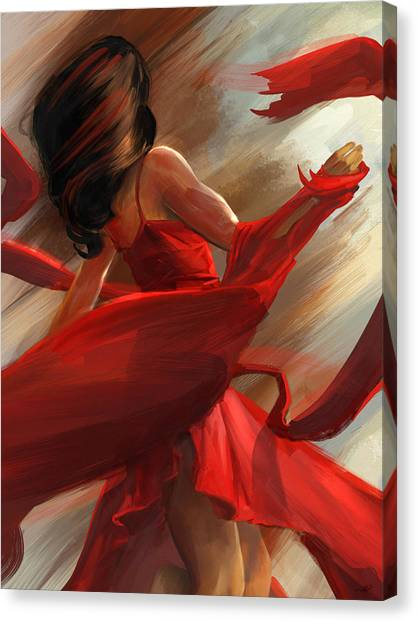 Beauty In Motion Canvas Print