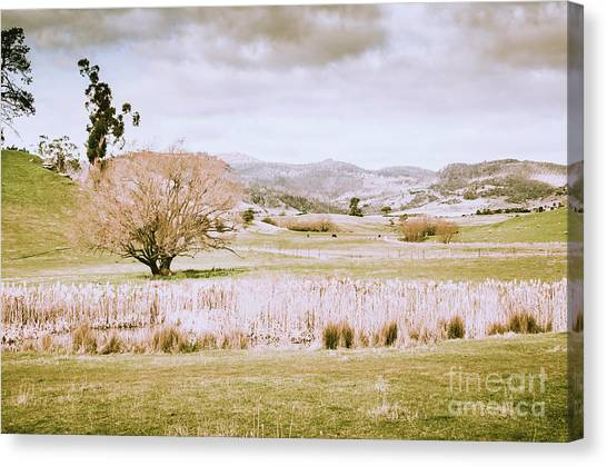 Farmland Canvas Print - Beauty In Rustic Gretna by Jorgo Photography - Wall Art Gallery