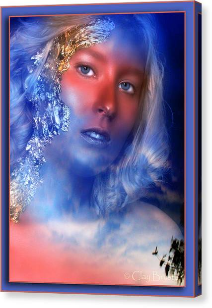 Beauty In The Clouds Canvas Print