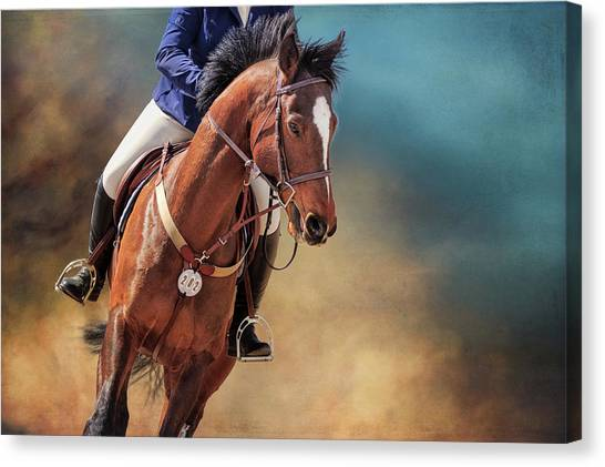 Beauty In The Dust Canvas Print
