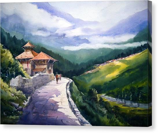 Beauty Of Himalaya Canvas Print