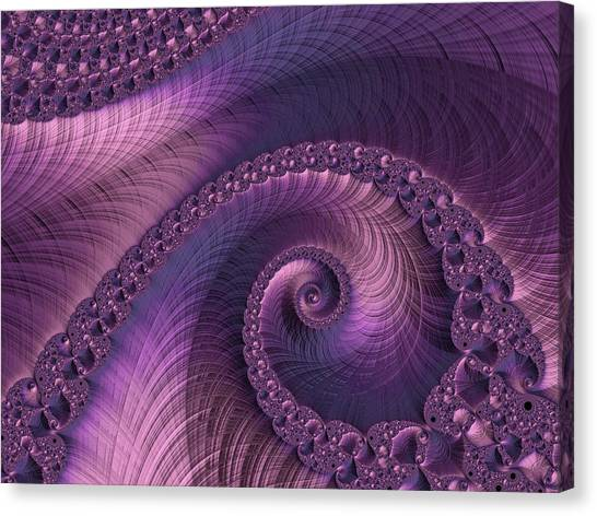 Canvas Print featuring the digital art Beauty Of Sorrow by Susan Maxwell Schmidt