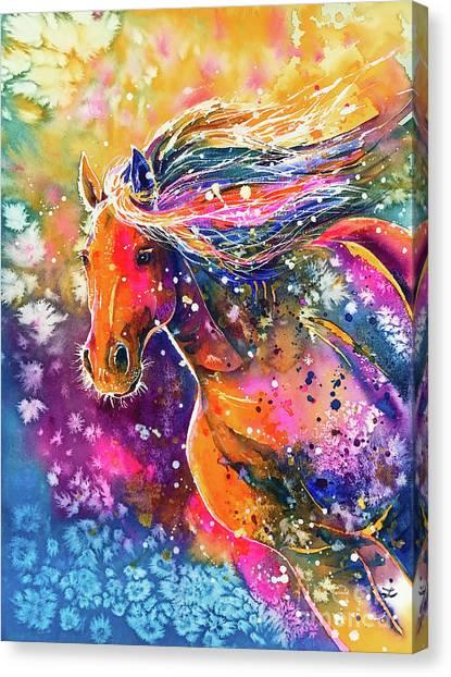 Beauty Of The Prairie Canvas Print