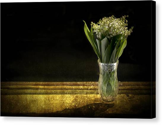 Vase Of Flowers Canvas Print - Beauty Of The Valley by Evelina Kremsdorf