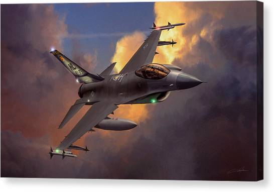 Air Force Canvas Print - Beauty Pass by Dale Jackson