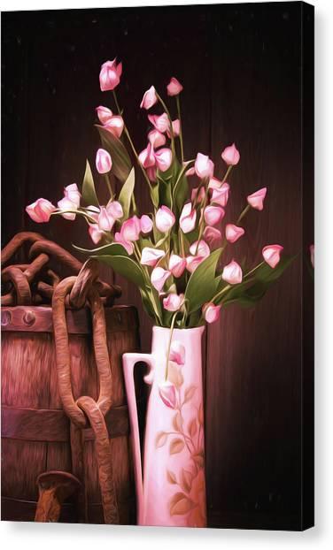 Pitchers Canvas Print - Beauty Unchained by Tom Mc Nemar