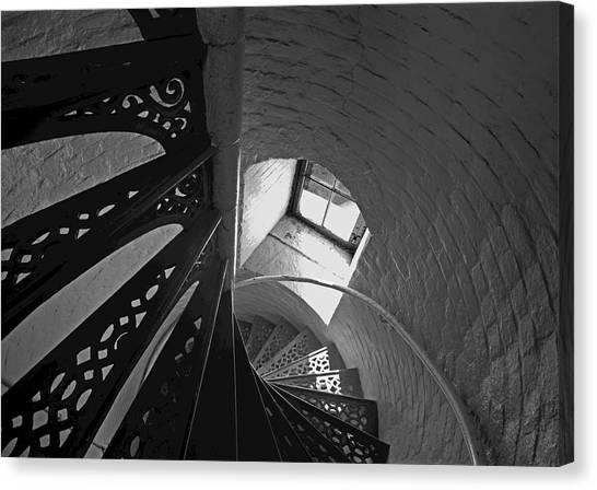 Beaver Island Lighthouse At High Noon Canvas Print