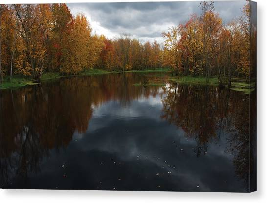 Beaver River Dramatic Canvas Print