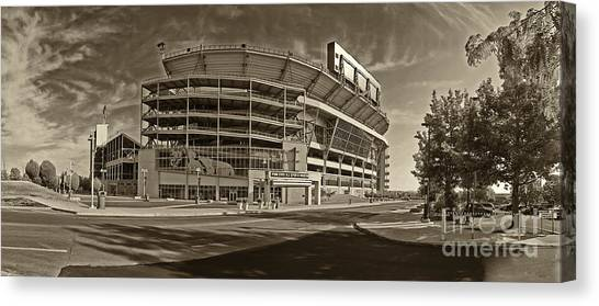 Beavers Canvas Print - Beaver Stadium by Jack Paolini