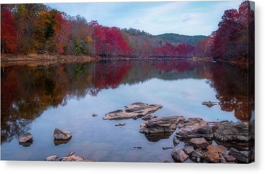 Beavers Bend State Park Canvas Print