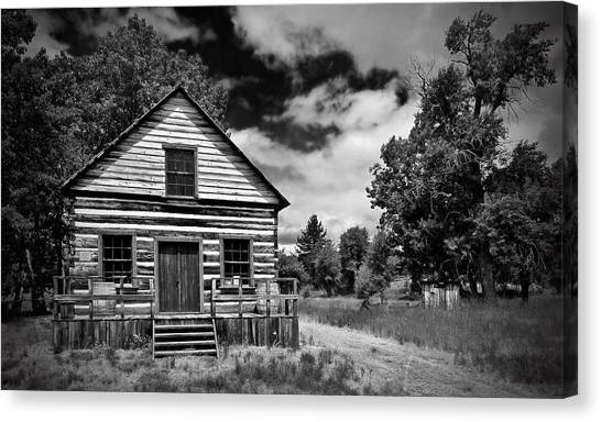 Beckwourth Cabin Canvas Print