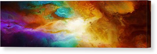 Becoming - Abstract Art Canvas Print