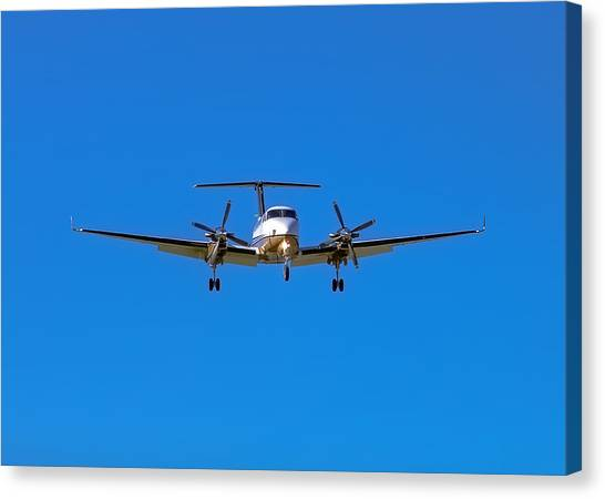Beechcraft Super King Air 350 Canvas Print