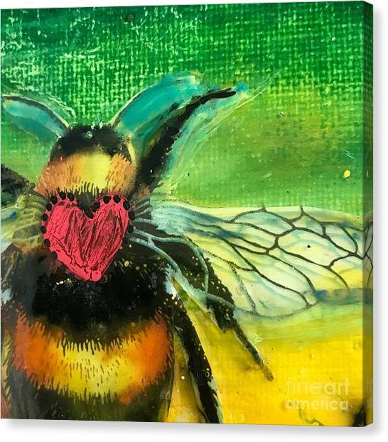 Beehave Canvas Print