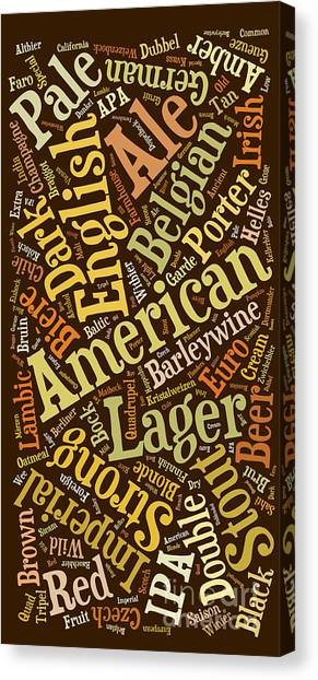 Craft Beer Canvas Print - Beer Lover Cell Case by Edward Fielding