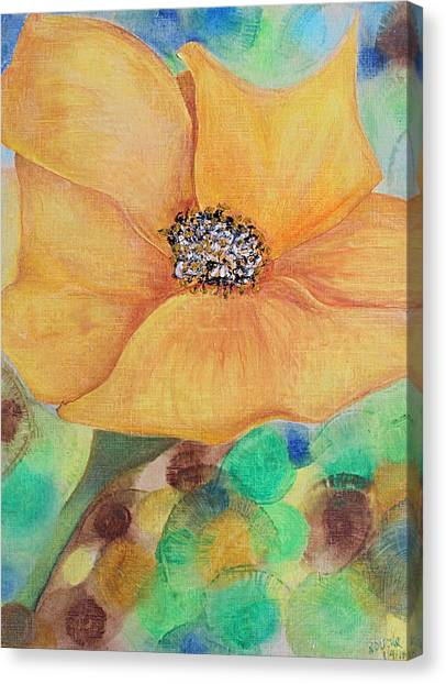 Bees Delight Canvas Print