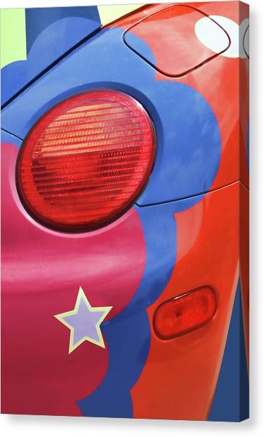 Turn Signals Canvas Print - Beetle 5 - Fill 'er Up by Nikolyn McDonald