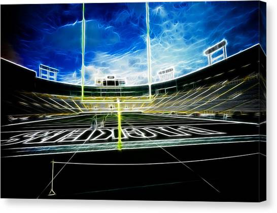 Before The Big Game Canvas Print