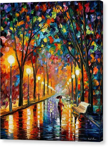 Oils Canvas Print - Before The Celebration by Leonid Afremov