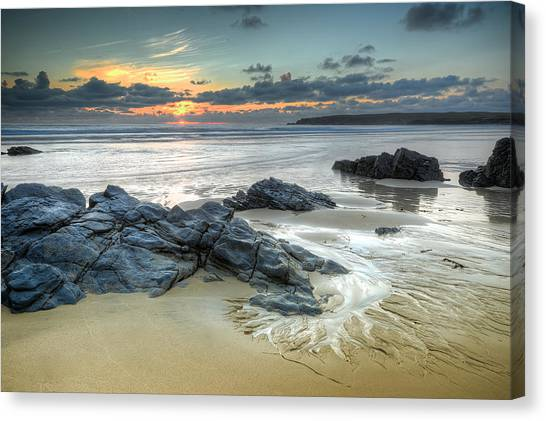 Before The Dusk Canvas Print