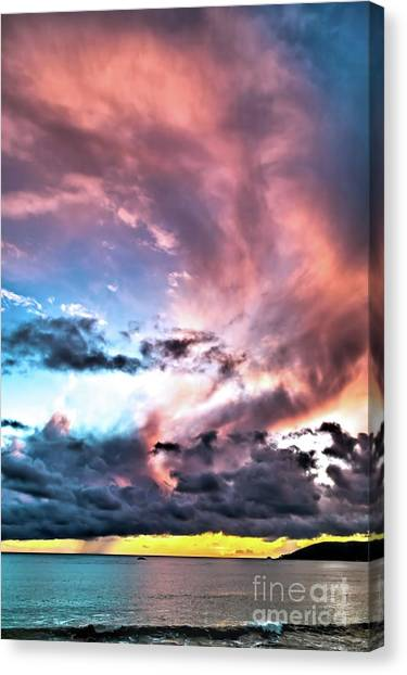 Before The Storm Avila Bay Canvas Print