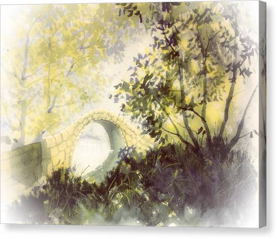 Beggar's Bridge Vignette Canvas Print