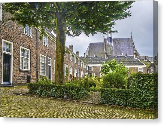 Begijnhof In Breda Canvas Print
