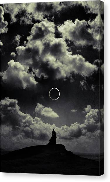 Fairytale Canvas Print - Beginning Of The End by Cambion Art