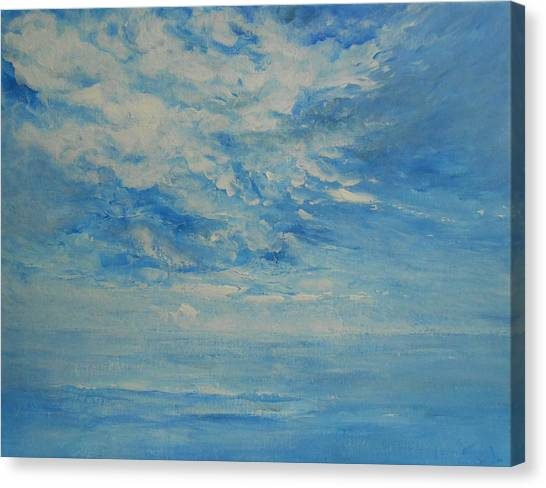 Behind All Clouds Canvas Print