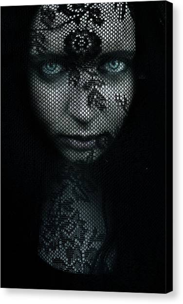 Witches Canvas Print - Behind by Cambion Art