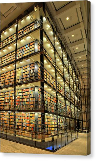 Beinecke Library At Yale University Canvas Print