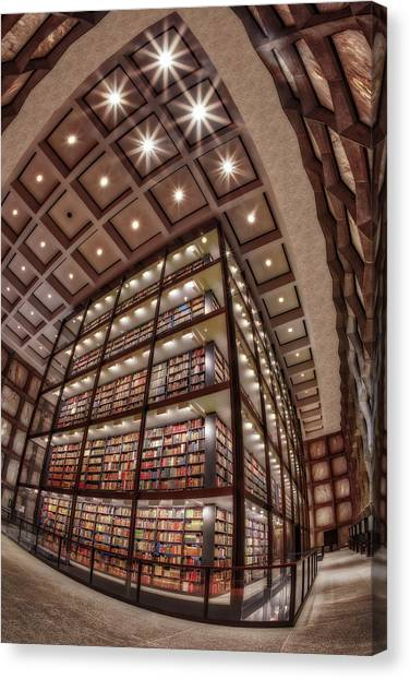 Yale University Canvas Print - Beinecke Rare Book And Manuscript Library II by Susan Candelario