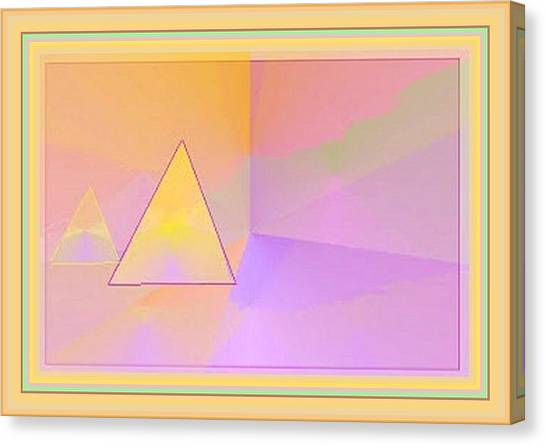 Beings Of Light Portal Canvas Print
