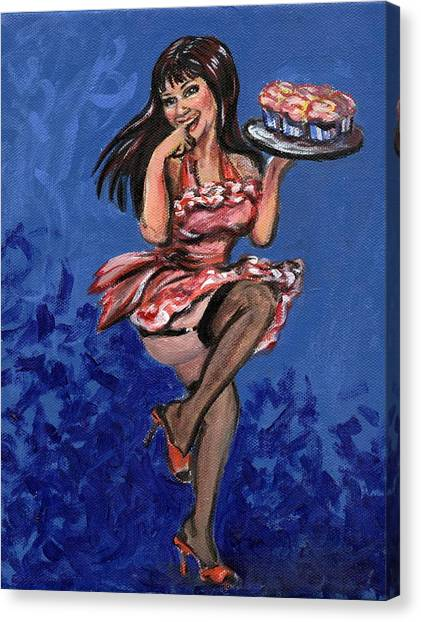 Bekki Canvas Print by Sheila Tajima