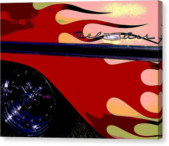 Bel Air Canvas Print by Audrey Venute