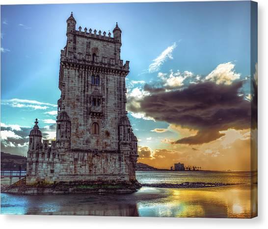 Belem Tower II Canvas Print