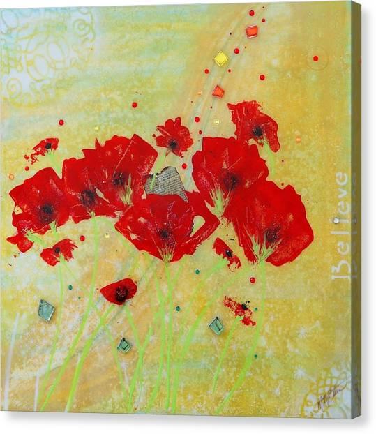 Believe By Mimi Stirn Canvas Print