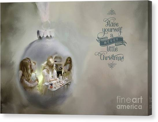 Believe In The Magic Of Christmas Canvas Print