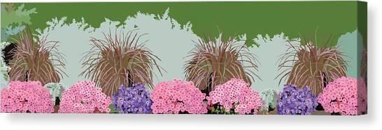 Belknap Mill Flowers Canvas Print by Marian Federspiel