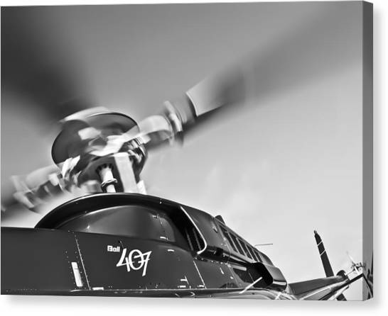 Bell 407 Canvas Print