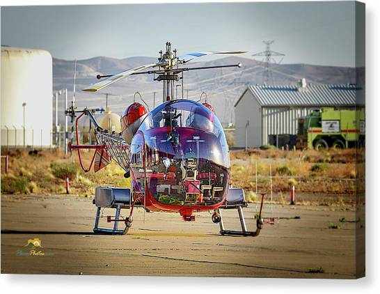 Bell 47 Canvas Print
