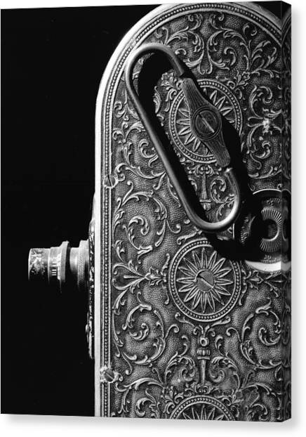 Bell And Howell Camera Canvas Print