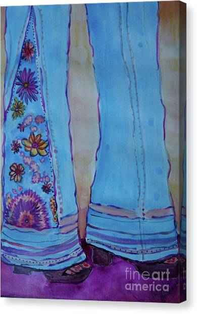 Bell Bottoms Canvas Print