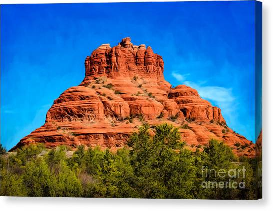 Bell Rock Tower Canvas Print