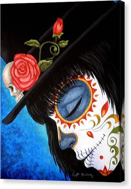 Bella Muerte Returns Canvas Print