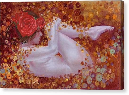 Bella Rose Canvas Print