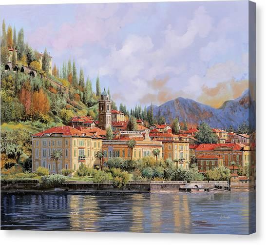 Trip Canvas Print - Bellagio by Guido Borelli