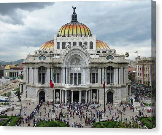 Bellas Artes Canvas Print
