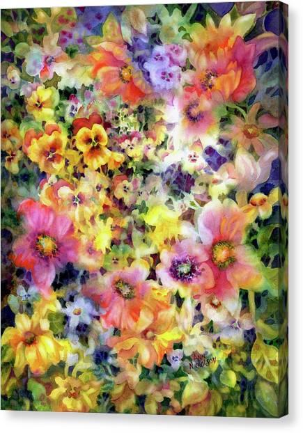 Belle Fleurs I Canvas Print